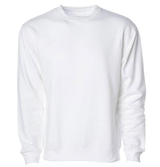Mid_Wight Crew Neck Sweatshirt Made in usa